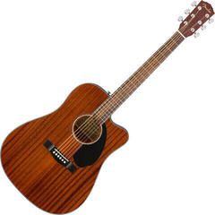 Fender Squier CD-60SCE Dreadnought All-Mahogany WN