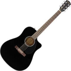 Fender CD-60SCE Dreadnought WN Black
