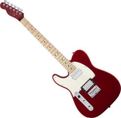 Fender Squier Contemporary Telecaster HH MN Dark Metallic Red LH