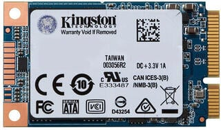 Kingston 120GB SSDNow UV500 Series mSATA Series SATA3 (6Gbps)