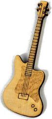 Hudební Obaly H-O Wood Magnet Electric Guitar