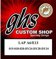 GHS Custom Shop Electric Lap Steel Strings -A6/E13 015-034