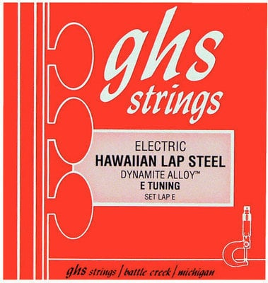 GHS Electric Hawaiian Lap Steel Guitar String Set, 013-056