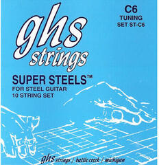GHS Pedal Steel Super Steels C6 015-070