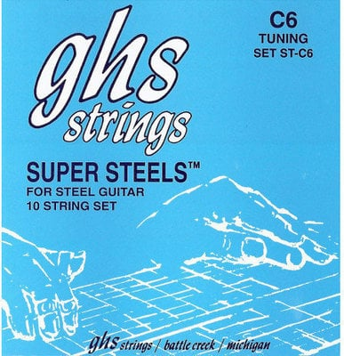 GHS Pedal Steel Super Steels C6 015-070