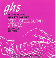 GHS Pedal Steel Nickel Rockers PF550 015-070