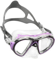 Cressi Air Mask Sil Crystal/Frame Black Lilac