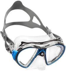 Cressi Air Mask Sil Crystal/Frame Black Blue