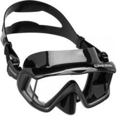 Cressi Liberty Triside Mask Sil Black/Frame Black