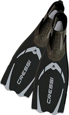 Cressi Pluma Fins Black/Silver 41/42 (7/8)