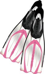 Cressi Pluma Fins Clear/Pink