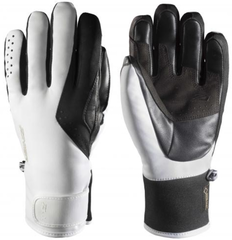 Zanier Wagrain.GTX Ski Gloves White-Black