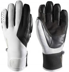 Zanier Wagrain.GTX Ski Gloves White-Black