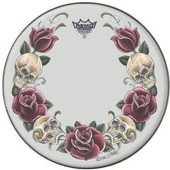 Remo 14 Suede Tattoo Rock and Roses TT