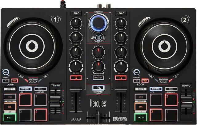 Hercules DJ DJControl Inpulse 200