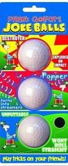 Longridge Golfer'S Joke Balls - 3 Pcs