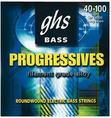 GHS Progressives L8000 4-String Set 040-100