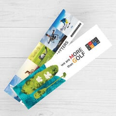 Muziker Golf Bookmark
