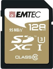Emtec SDXC 128GB Speed`In Class 10 UHS-I U3
