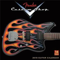 Fender 2019 Custom Shop Wall Calendar