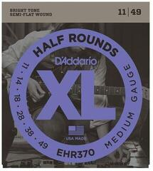 D'Addario EHR370 Half Rounds Medium 11-49