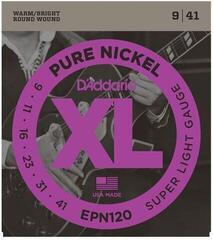 D'Addario EPN120 Pure Nickel Super Light 09-41