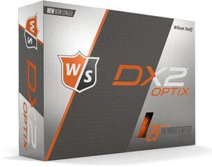 Wilson Staff DX2 Optix 12-Ball Orange