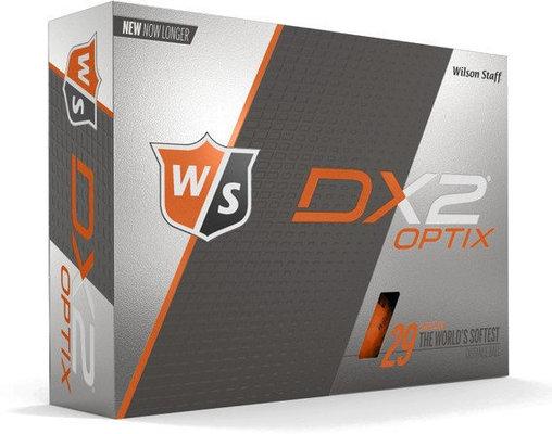 Wilson Staff DX2 Optix 12-Ball Orange