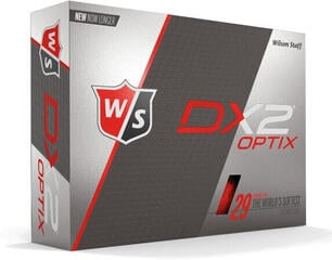 Wilson Staff DX2 Optix 12-Ball Red