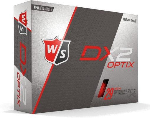 Wilson Staff DX2 Optix 12-Ball Red