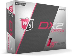 Wilson Staff DX2 Optix 12-Ball Pink