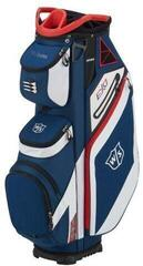 Wilson Staff Exo Cart Bag Navy/White/Red