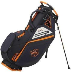 Wilson Staff Exo Stand Bag Black/Black/Orange