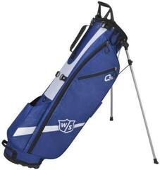Wilson Staff Quiver Blue Stand Bag