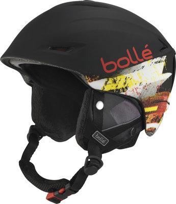 Bollé Sharp Soft Black/Red 54-58 cm 18/19