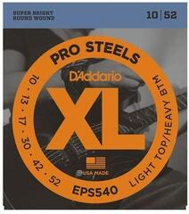 D'Addario EPS540 ProSteels Light Top/Heavy Bottom 10-52