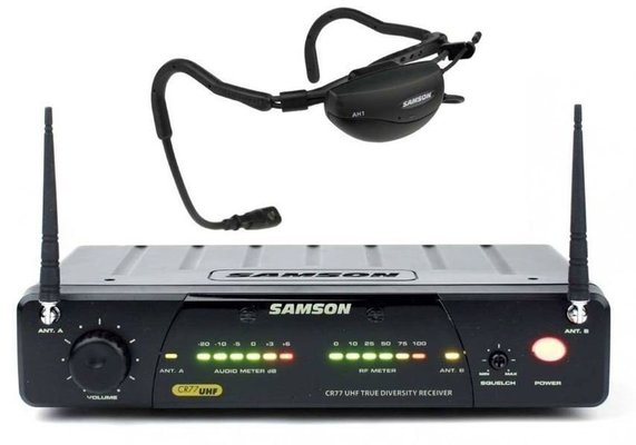 Samson Airline 77 Aerobics Headset System E1 Band