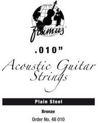 Framus 48010 Bronze Acoustic Guitar Single String Plain 010