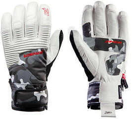 Zanier Revolution.XZX Ski Gloves White Camo