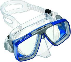 Technisub Mask Look Silikon Transparent - Blue metallic