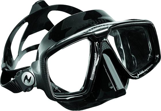 Technisub Mask Look HD - Black / Black Sil.
