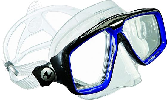 Technisub Mask Look HD - Blue / Transparent Sil.