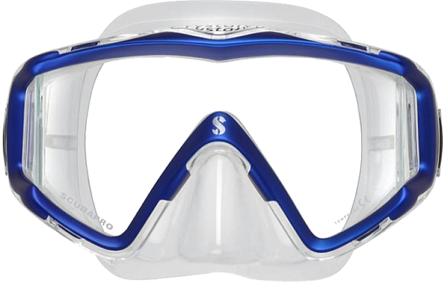 Scubapro Mask Crystal VU - Sil. Transp. - Blue