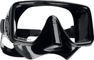 Scubapro Mask Frameless - Black