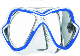Mares X-Vision Clear/Blue
