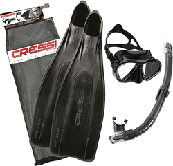Cressi Set Pro Star Bag Black