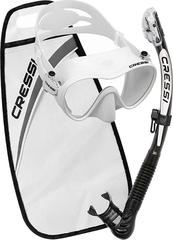 Cressi Set Mask F1 + snorkel Alpha Ultra Dry