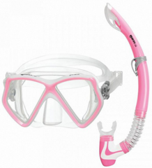Mares Combo Pirate Clear/Pink White