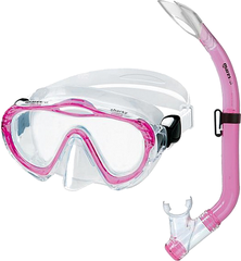 Mares Combo Sharky Clear/Pink White