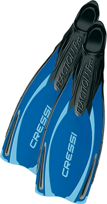 Cressi Reaction Pro Fins Black/Blue 46/47 (12/13)
